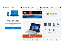 Microsoft kündigt Browser Edge für Android und iOS an