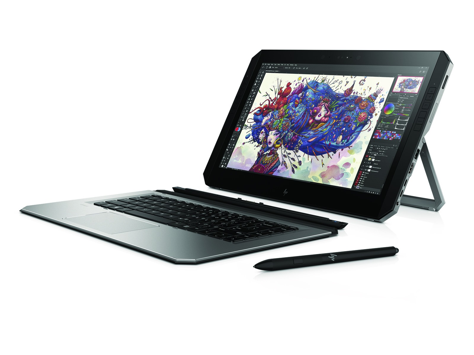 HP stellt mobile Workstation ZBook X2 vor