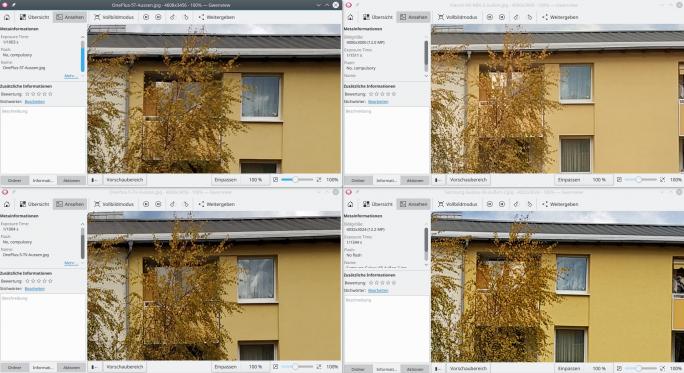 Testbilder OnePlus 5T im Vergleich zur Konkurrenz (Bild: ZDNet.de)