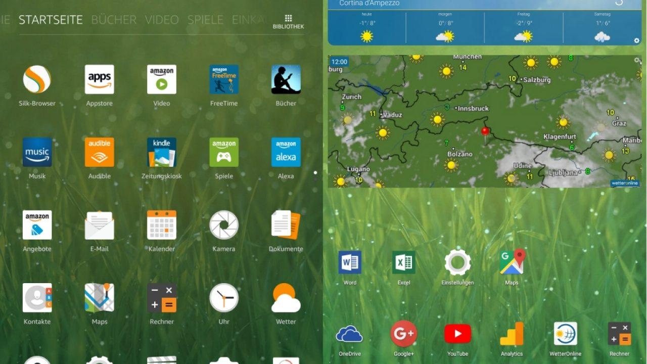 Amazon Fire HD 10: Google Play Store und Nova-Launcher