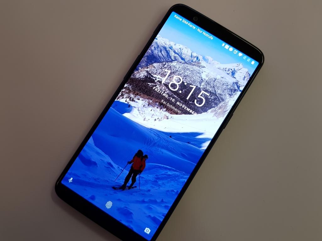 Schnäppchen: OnePlus 5T mit 64 GByte für 433 Euro