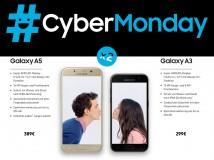 Cyber Monday: Galaxy A5 und A3 im Doppelplack für 389 und 299 Euro