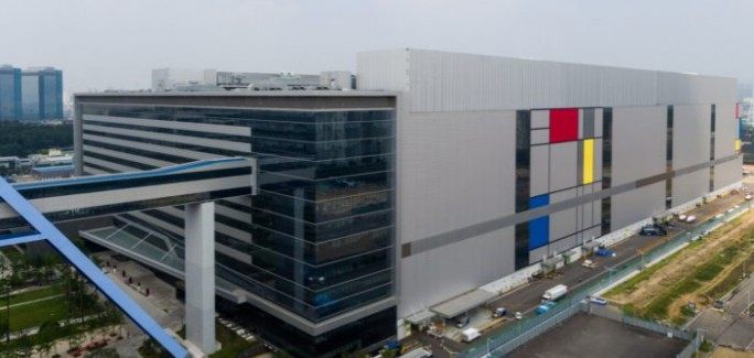 Samsungs neues Halbleiterwerk S3 in Hwaseong (Bild: Samsung)