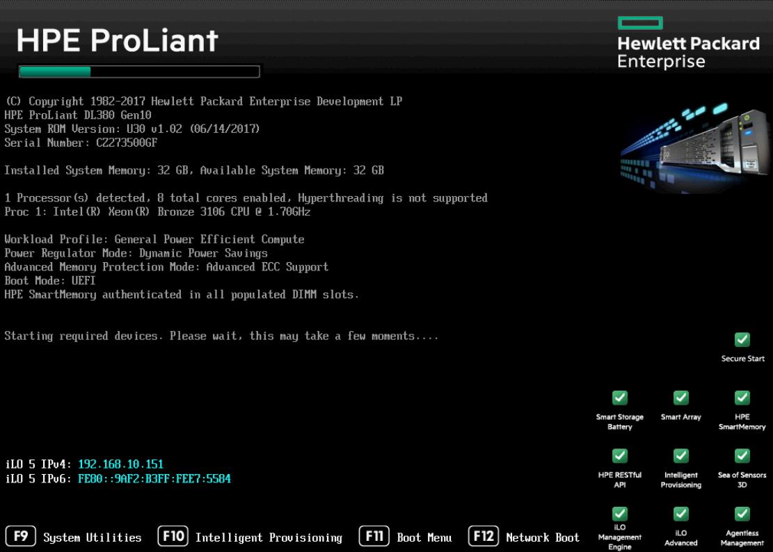 HPE ProLiant Server Gen10 schnell und einfach einrichten und im