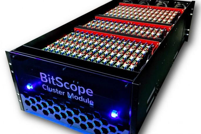 Raspberry-Pi-Cluster-Modul von BitScope (Bild: BitScope)