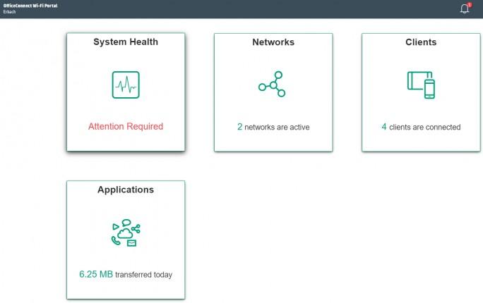 Über das Webportal lassen sich OC2 Access Points nach der Einrichtung umfassend verwalten (Screenshot: Thomas Joos).