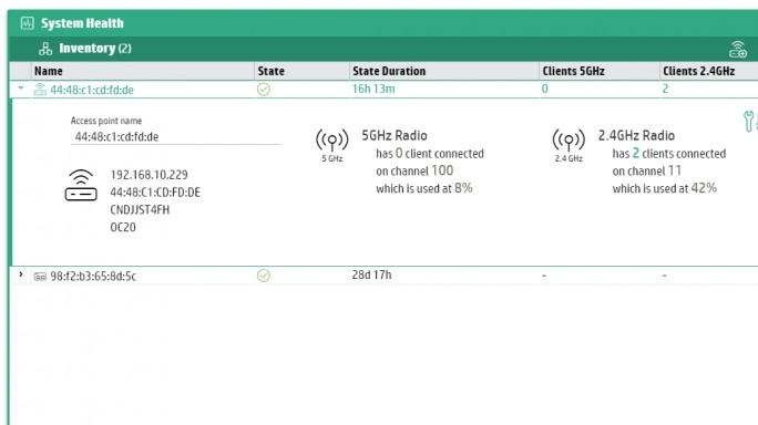 Im Webportal wird auch das Inventar der OC20-Infrastruktur angezeigt (Screenshot: Thomas Joos).