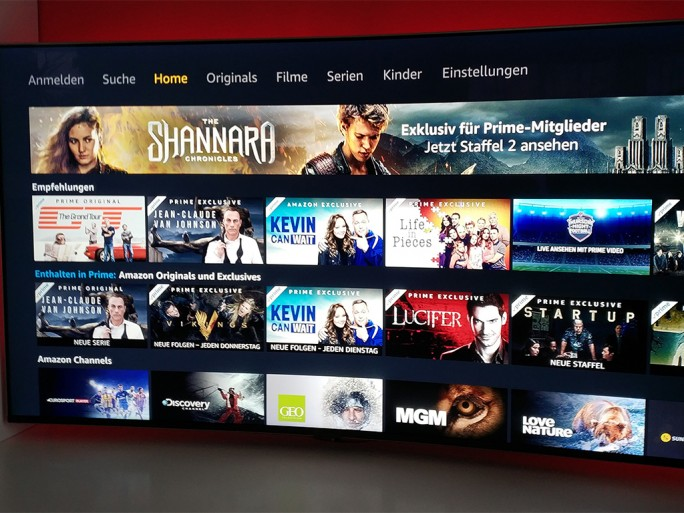 AppleTV: Amazon Prime Video (Bild: ZDNet.de)