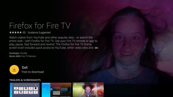 Firefox für Fire TV (Bild: Mozilla)