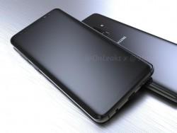 Rendering von Galaxy S9 (Bild: @OnLeaks)