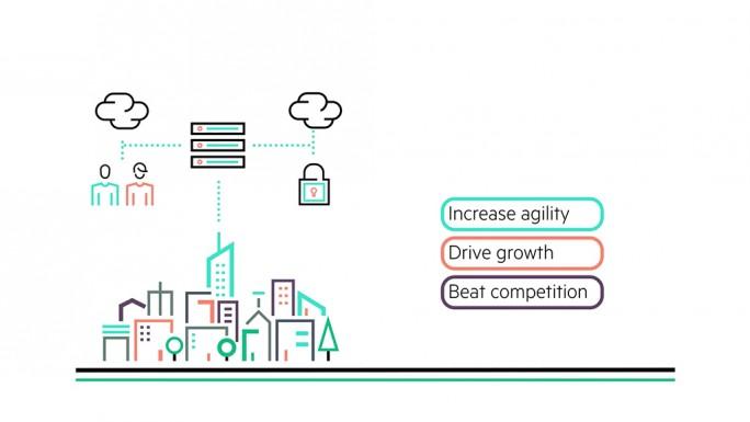 HPE: Vorteile von Hybrid-IT (Bild: HPE)