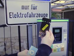 Stromtankstelle für Elektroautos (Screenshot: ZDNet.de)