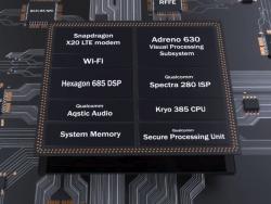 Schematische Darstellung der Komponenten der Snapdragon 845 Mobile Platform (Screenshot: ZDNet.de)