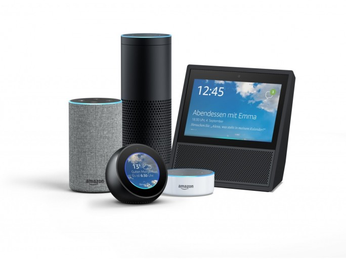 Amazon Echo-Familie (Bild: Amazon)