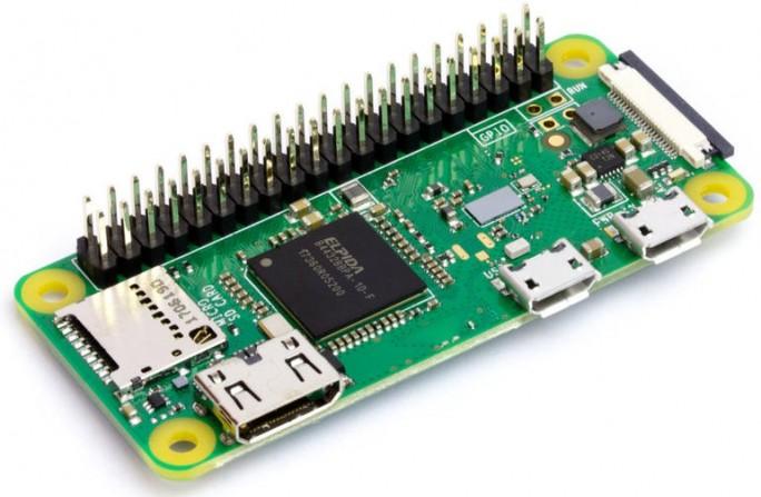 Pi Zero WH soll das Prototyping mit dem frisch vorgestellten GPIO Expander vereinfachen. Anwender können über einen PC via USB jetzt insgesamt 40 Pins kontrollieren (Bild: Pimoroni).