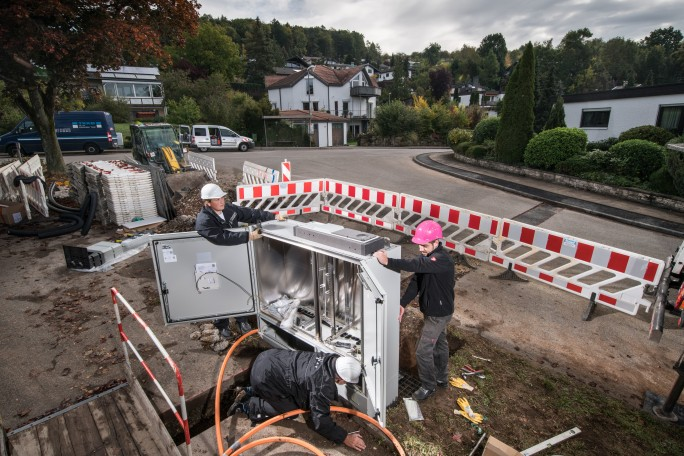 Die Deutsche Telekom will den Glasfaserausbau in 33 Gewerbegebieten vorantreiben (Bild: Deutsche Telekom).