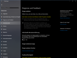 Windows 10 Datenschutz-Tools (Screenshot: ZDNet.de)