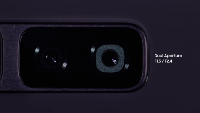 Galaxy S9: Variable Blendenöffnung (Bild: Samsung)