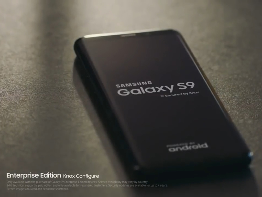 Galaxy S9/S9+: Offizielles Video zeigt Business-Funktionen
