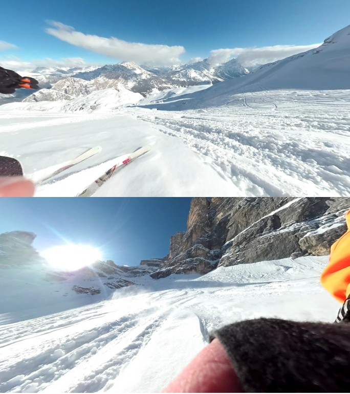 YI 360 VR: Screenshot aus App mit 5,7K-Video (Bild: ZDNet.de)