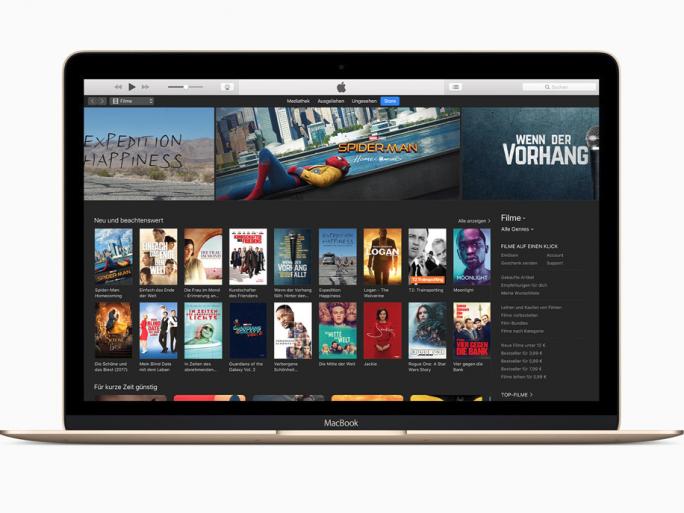 iTunes Store auf einem MacBook (Bild: Apple)