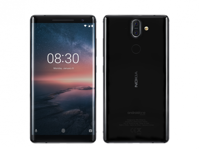 Nokia 8 Sirocco (Bild: HMD Global)