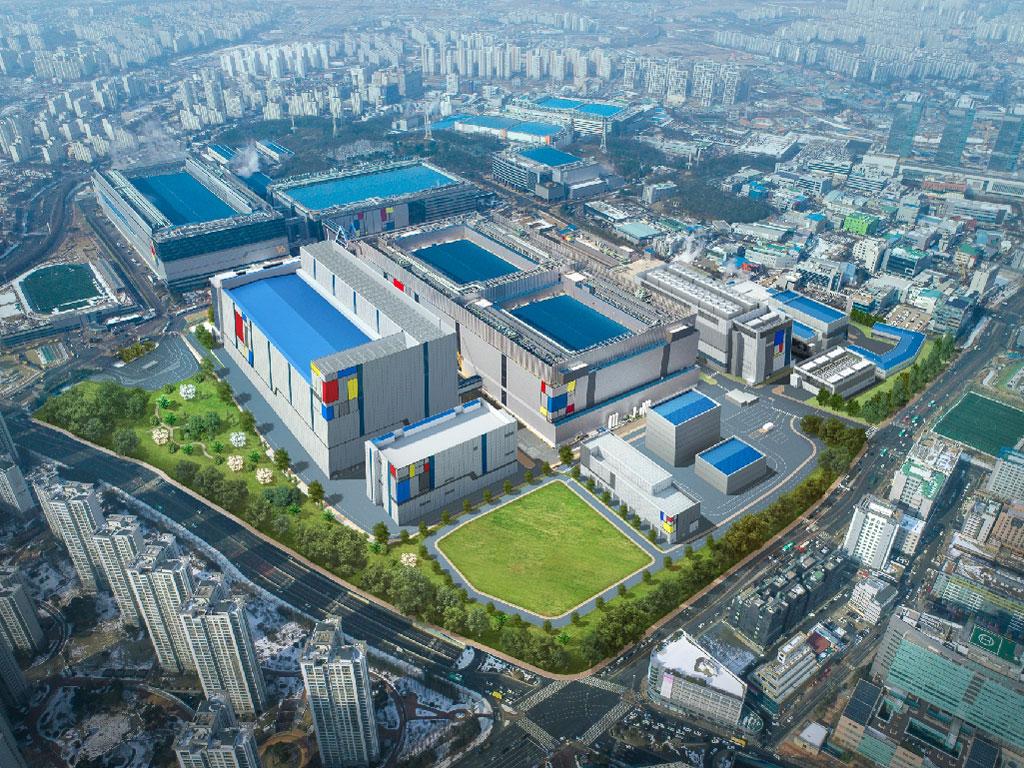 Samsung baut für 6 Milliarden Dollar neue Halbleiterfertigung