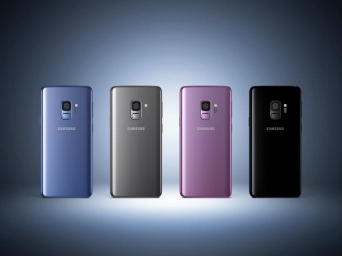 Farben des Galaxy S9/S9+ (Bild: Samsung)
