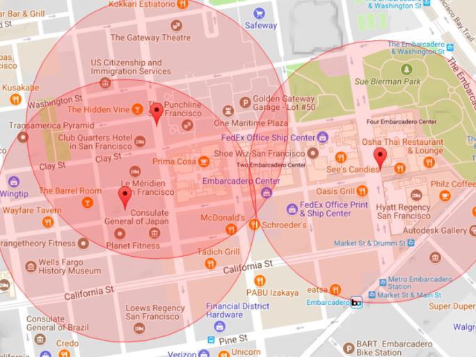 Wandera ermittelt Standorte von Strava-Nutzern innerhalb von Privacy Zones (Bild: Wandera)