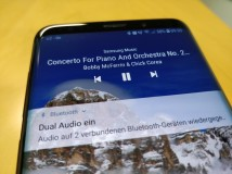 Samsung Galaxy S9+ im Test: Exzellente Audiowiedergabe [Update]