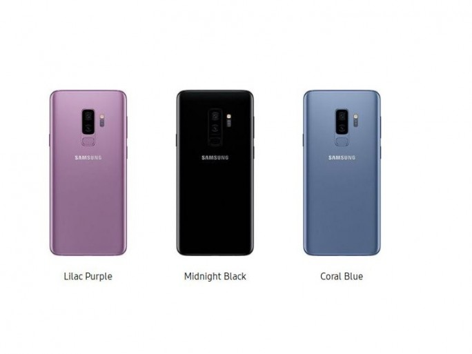 Galaxy S9+: Farben (Screenshot: ZDNet.de)