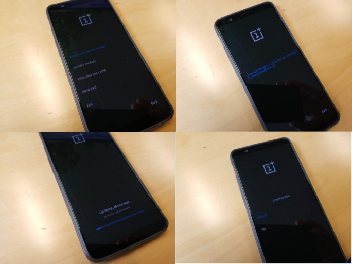 OnePlus 5T: Installation der Beta-Version (Bild: ZDNet.de)