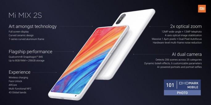 Xiaomi Mi MIX 2S: Features (Bild: Xiaomi)