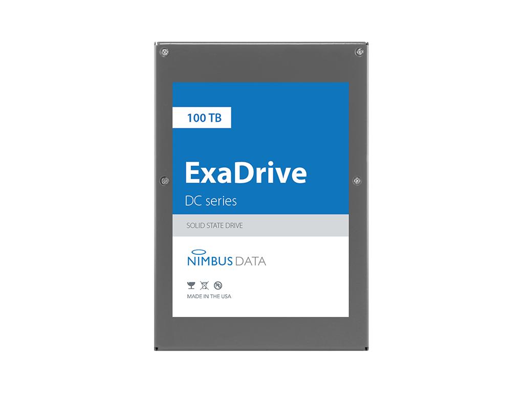 Nimbus Data stellt SSD mit 100 Terabyte vor