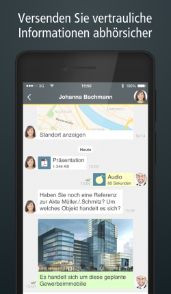 SIMSme Business, Deutsche Post Messenger