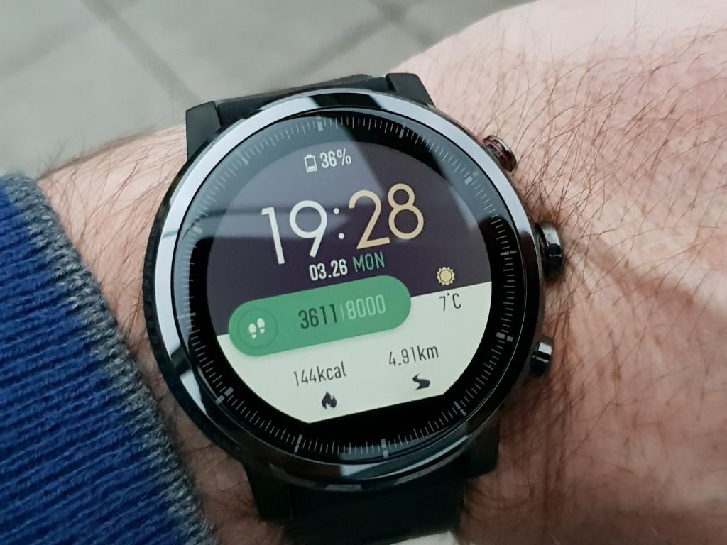 sport smartwatch huami amazfit stratos im test. Black Bedroom Furniture Sets. Home Design Ideas