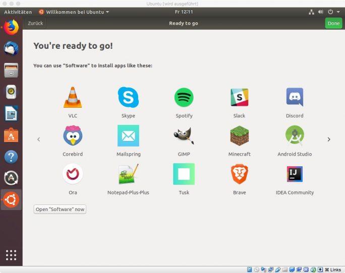 """Ubuntu 18.04 """"Bionic Beaver"""" (Bild: ZDNet.de)"""
