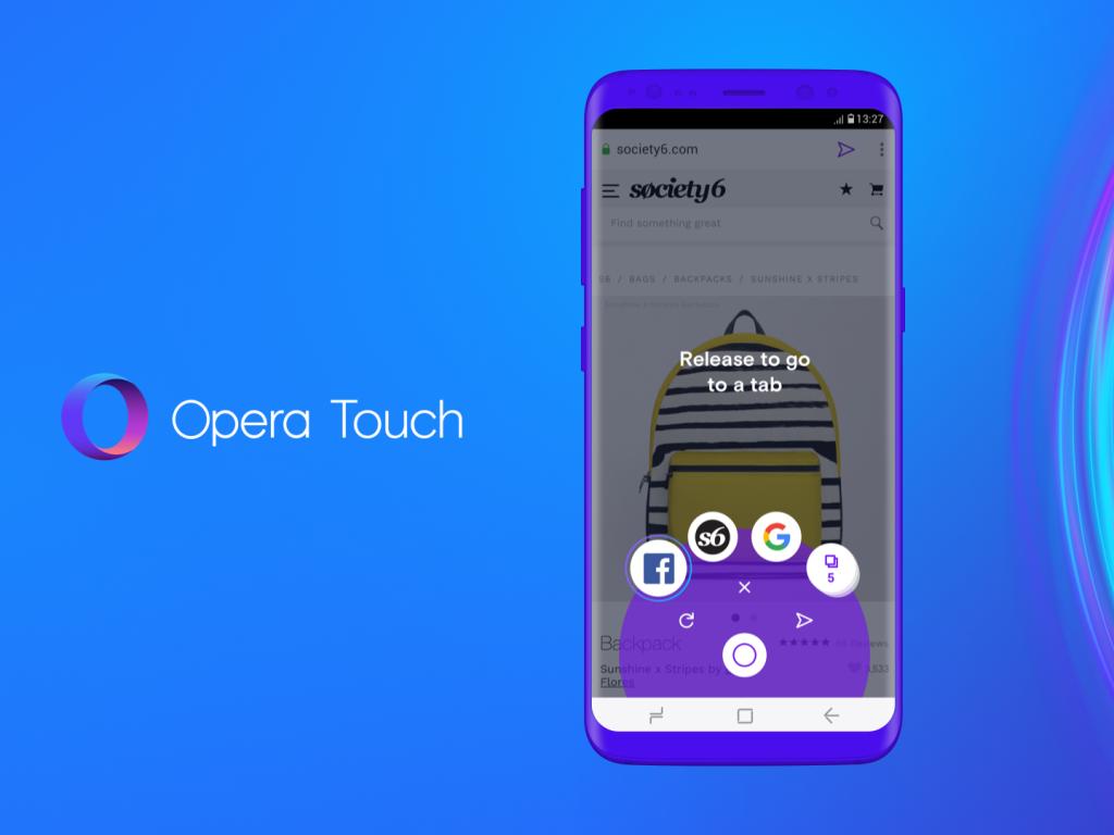 Opera stellt Mobilbrowser Opera Touch vor