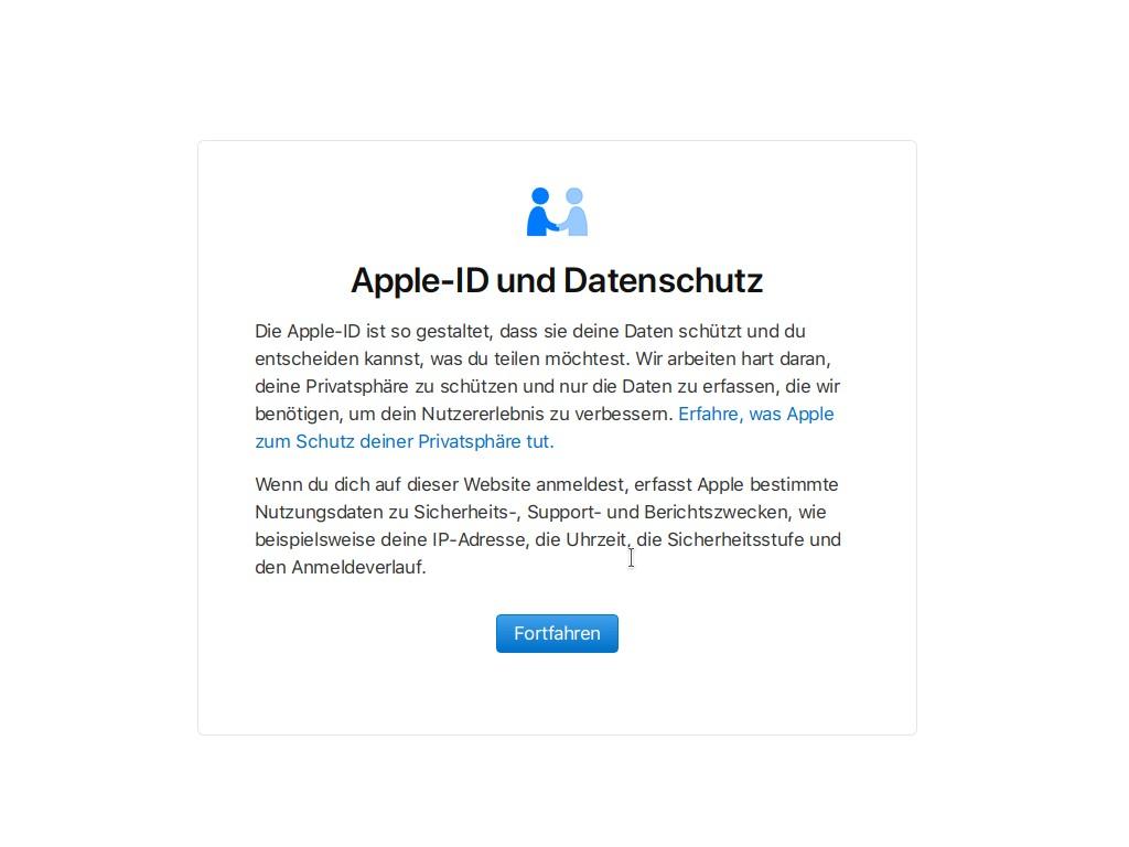 Datenschutz: Apple ermöglicht Download von Nutzerdaten