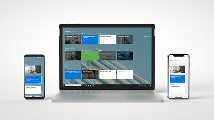 Microsoft Launcher bietet Zugriff auf Windows-10-Timeline (Bild: Microsoft).