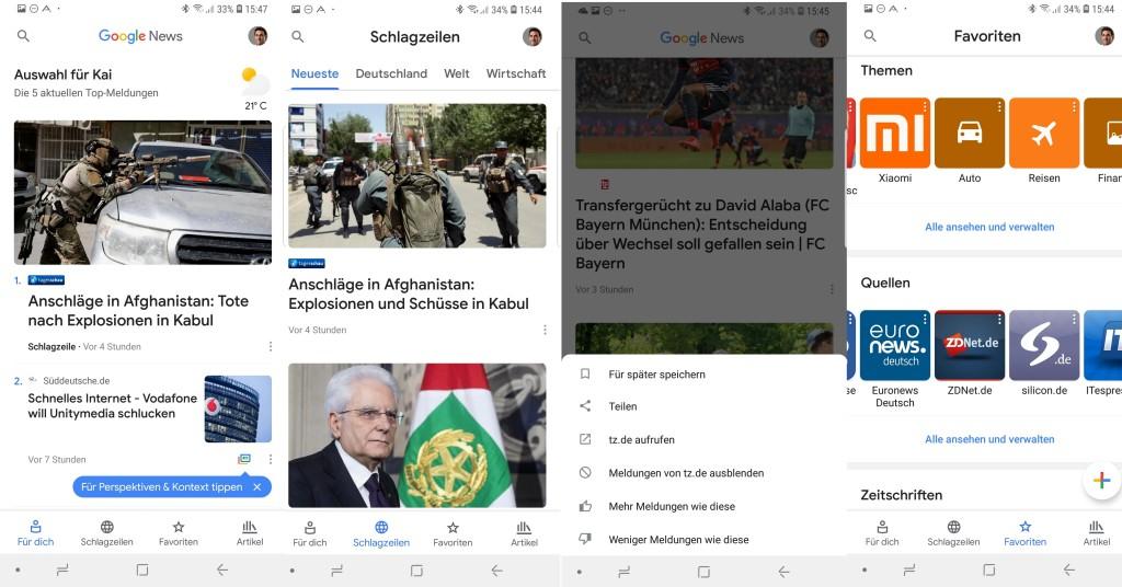 Google News Künstliche Intelligenz Soll Das Informationsangebot