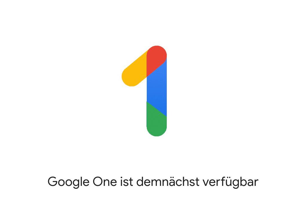 Google One (Bild: Google)
