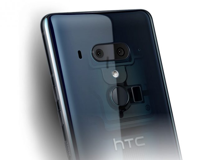 HTC U12+ in Translucent Blue (Bild: HTC)
