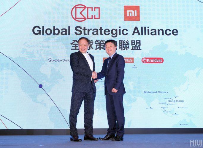 Hutchison und Xiaomi kooperieren (Bild: Xiaomi)