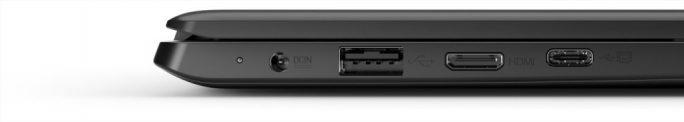 Medion Akoya E4254: USB-C-3.1 mit DisplayPort-Support (Bild: Medion)
