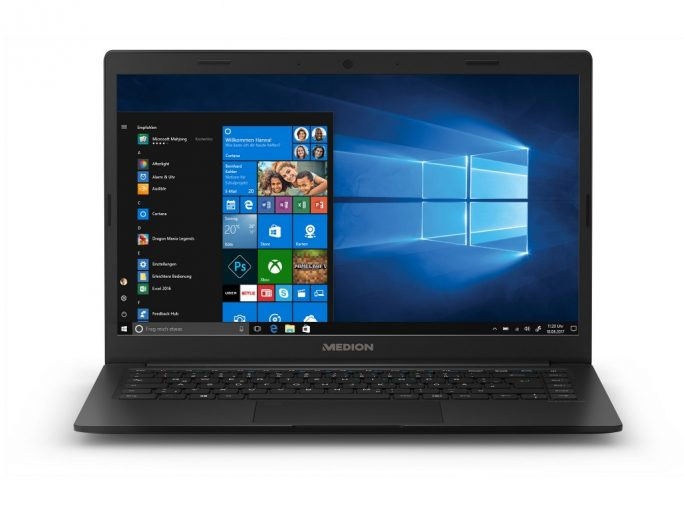 Medion Akoya E4254: 14-Zoll-Notebook mit Windows 10 S (Bild: Medion)