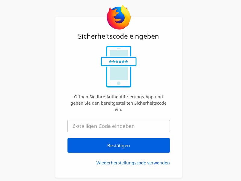 Mozilla aktiviert Zwei-Faktor-Authentifizierung