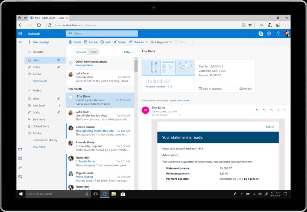 Microsoft Kündigt Neue Funktionen Für Outlook An Zdnetde