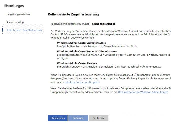 Mit der rollenbasierten Zugriffsteuerung kann die Verwendung des Admin Centers delegiert werden (Screenshot: Thomas Joos).