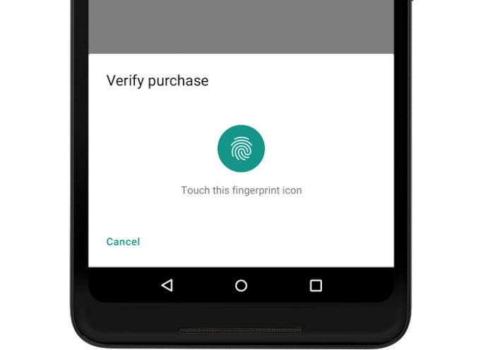 Android P: BiometricPrompt-API (Bild: Google)